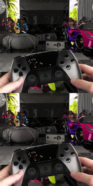 What if this was the actual PlayStation 5 controller! 🎮🔥🤩 (IG-bat.not.bad) https://t.co/2kxIaYcnGK: What if this was the actual PlayStation 5 controller! 🎮🔥🤩 (IG-bat.not.bad) https://t.co/2kxIaYcnGK