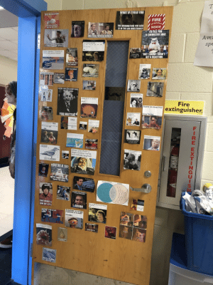 """My teacher covered her door in science memes: WHAT IFI TOLD YOU  FIRE  EXTINGUISHER  INSIDE  LOST AN ELECTRON  THE INFORMATION YOU SEEK  IS IN THE LAB DIRECTIONS?  When a bond contains a metal  and a nonmetal  BRO,  LP105  A I'D TELL YOU.,(2""""  A CHEMISTRY JOKE  CH)» Loy  [(CH  YOU REALLY HAVE TO  KEEP AN ION THEM  Aver  SCIENCE TEACHER  spe  DO YOU EVEN SCIENCE?  HB  CH  show me the loa lor odum ydde  VERES  BAADED  TRYING TO CONVINCE PEOPLE  THAT ROCKS ARE INTERSTING  BUT I KNOWI WON'T  GET A REACTION  Sodum h /Pamus  NaH  TM JUST SAYIN IF WE EVOL  FROM WOLVES  kidneys when  toxins enter the  body  Aerobic respiration. """"produces 34  ATP to every glucose molecule**  ecrets  ight, then. Keep  How do ipay a  How do Igetab  say sike right now  Schools  THEN WHY ARE THERE  STILL WOLVES?  LOVE IS IN THE AIR?  Cats are liquids.  Anaerobic  mitochendria is the  verliouse al the cel  CAN'T TELL IF BIOLOGY  FALSE  NITLOGEN OYGEN ARGON AND  CARSON DIOKIDE ARE IN THEAIR  espiration  Uquids take theshapeol the container  while maintaintng a constant volume  That's RiSecatsarellquid  The first cell that underwent  mitosis must have been like  The deal of a lifetime  Otalked about the survival  of the fittest  OR FOREIGN LANGUAGE  IFIWEREA DI M NAMEWOULD BE ENYME  EXCSUGN OA  st evol  lor Charles Darwin  BECAUSE IN ATWAYS-  GREAKING IT DOWN  Before the Hunger Games  YOU ARE LIVING, YOU OCCUPY SPACE  YOU HAVE A MASS  Gunna teli my kids that  this was Watson and Crick  Fire  DNA:  extinguisher,  RNA:  Students: Are viruses living?  Biology Teachers:  Boss it says here thet your translation  silla ere eceptional  That right""""  Boss Okay, ler's see them  Water  YOU MATTER  Area of low  AAAAAAMAAA  concentration  quand pen you tel  DNA  wyou cant make me you don  Well yes, but actually no  budy Cels uring Ms  guard Yea of mask to eveal  tochondria ackuahy i do  can I capy your homework? -RNA  Deaxyribonucleic  acid  (yeah ut change it up a bit sot dbesn't look  cbvous you copled -DNA  """