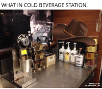 WHAT IN COLD BEVERAGE STATION  TT T  #BARISTALIFE  IG: @BARISTA LIFE wot in tarnation BaristaLife 👨🏻🌾