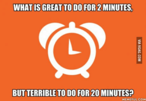 Moms, Phone, and What Is: WHAT IS GREAT TO DO FOR 2 MINUTES  BUT  TERRIBLE TO DO FOR 20  MINUTES?  MEMEFUL.COM Talking to moms over the phone. 2 min is enough and max