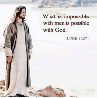 Follow: 👉@praiseJesus1st 👈 God Jesus HolySpirit Jehova Lord Christ Bless memes sunday Somebody churchmemes memehistory Life Love My Yes Blessed instagood Bible GodBlessYou me Amazing mercy tbt You I live amen: What is impossible  with men is possible  with God.  LUKE 18:27  SON OF GOD Follow: 👉@praiseJesus1st 👈 God Jesus HolySpirit Jehova Lord Christ Bless memes sunday Somebody churchmemes memehistory Life Love My Yes Blessed instagood Bible GodBlessYou me Amazing mercy tbt You I live amen