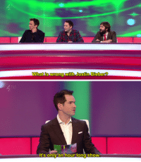 theonewhosawitall:  dangerhamster:  britishtvs:   (x)   British comedy will always give me a sense of national pride like nothing else can       : What is wrong with Justin Bieber?   ho  oiao  t's only an hour long show theonewhosawitall:  dangerhamster:  britishtvs:   (x)   British comedy will always give me a sense of national pride like nothing else can