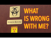 iglovequotes:Interesting: WHAT  IS WRONG  WITH ME?  2K  STRESS ROOM  CAUTION iglovequotes:Interesting