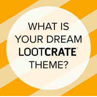 Batman, Memes, and The X-Files: WHAT IS  YOUR DREAM  LOOTC RATE  THEME? If you had the ability to pick the theme & franchises, what would they be? 🙂 April's Loot Crate theme is INVESTIGATE featuring Stranger Things, Batman, Jessica Jones, and The X-Files! (Link in Bio)