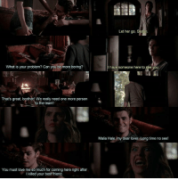 + ↳⠀⠀AU [96] Malia sees Stefan. — CMON STEF DONT BE MEAN I HATE U LIKE THAT ;'((((( — Who wants to see Isaac?: What is your problem? Can you  be more boring?  That's great, brother! We really need one more person  to the team  You must love me so much for coming here right after  I killed your best friend.  Let her go, Sie  I have someone here to  Malia Hale, my dear lover Long time no see! + ↳⠀⠀AU [96] Malia sees Stefan. — CMON STEF DONT BE MEAN I HATE U LIKE THAT ;'((((( — Who wants to see Isaac?