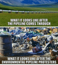 America, Guns, and Memes: WHAT IT LOOKS LIKE AFTER  THE PIPELINE COMES THROUGH  WHAT IT LOOKS LIKE AFTER THE  ENVIRONMENTAL PIPELINE PROTESTERS Sad :- . . . Conservative America SupportOurTroops American Gun Constitution Politics TrumpTrain President Jobs Capitalism Military MikePence TeaParty Republican Mattis TrumpPence Guns AmericaFirst USA Political DonaldTrump Freedom Liberty Veteran Patriot Prolife Government PresidentTrump Partners @conservative_panda @reasonoveremotion @conservative.american @too_savage_for_democrats -------------------- Contact me ●Email- RaisedRightAlwaysRight@gmail.com ●KIK- @Raised_Right_ ●Send me letters! Raised Right, 5753 Hwy 85 North, 2486 Crestview, Fl 32536