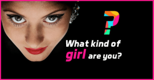 meme-mage:  What type of girl are you? A girly girl, boyish, goth, geek, or hipster? Take this quiz to find out.http://metricbuzz.com/social-quiz-questions/: ?  What kind of  girl  are you? meme-mage:  What type of girl are you? A girly girl, boyish, goth, geek, or hipster? Take this quiz to find out.http://metricbuzz.com/social-quiz-questions/