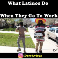 Beer, Latinos, and Memes: What Latinos Do  When They Go To Work  Corona  O :Derek vlogs Can't Start Work Without The Goods 🍺💃😂 Featuring: @buddy_banks 👦 🚨Watch Full Youtube Video: Its Even Better (LINKS IN BIO)🚨 Derekvlogs LatinoDad HowLatinosWork Beer ItsAMustHave Work Job