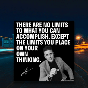 What limits did you put on your own thinking? And how did you overcome them? https://t.co/VXAD2Xad7y: What limits did you put on your own thinking? And how did you overcome them? https://t.co/VXAD2Xad7y