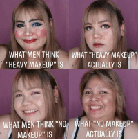 "9gag, Makeup, and Memes: WHAT MEN THINK ""HEAVY MAKEUP"" IS WHAT"