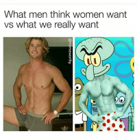 Ugly nigga with a long dick and a good body: What men think women want  vs what we really want  3  3 Ugly nigga with a long dick and a good body