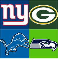 Memes, Giant, and Giants: What NFC teams are moving on this weekend? Giants vs. Packers - Lions vs. Seahawks 🏈