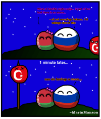 Bad, Sorry, and Business: What of butiful might rosja sjut of too  bad there is no moon  of not worryings belarus  takings care of this  1 minute later  nao We havingsa moon  ~Marin Manson Sorry for being busyings so long.. Tsar Marin is back, with tips for romantic evening with your lover.. ^^  BIGGUR: http://imgur.com/a/CMYGd ~ MarinManson