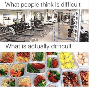 I'll do some damage at that GYM!: What people think is difficult  angelicakatheen  What is actually difficult I'll do some damage at that GYM!