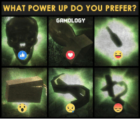 Gamers? :D: WHAT POWER UP DO YOU PREFER?  GAMOLOGY Gamers? :D