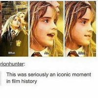 I c o n I c... Follow me ( @god.of.appleysauce )for more funny tumblr and textpost: What  rionhunter:  This was seriously an iconic moment  in film history I c o n I c... Follow me ( @god.of.appleysauce )for more funny tumblr and textpost