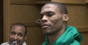 WHAT!? Russell Westbrook Was So Disgusted By This Question   Video: WHAT!? Russell Westbrook Was So Disgusted By This Question   Video