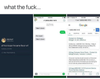 """Friday, Google, and Meme: what the fuck  O T-Mcbile e  5:16 PM  T-Mobile  5:17 PM  +1 (800) 962-1413  Q  1 (800) 962-1413  Text Message  Today 515 P  Google  Take it down  1 (800) 962-1413  what  ALL SHOPPING MAPS IMAGES VIDEOS  The tweet  Contact Us 