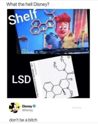 Disney: What the hell Disney?  shel  1l  LSD  Disney  don't be a bitch