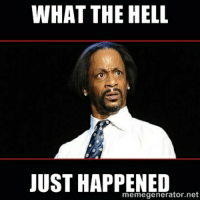 WHAT THE HELL  JUST HAPPENED  memegenerator.net As a Californian waking up at 7am to seeing all the Uk news
