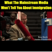 This is the TRUTH about the history of immigration in the United States. Everyone in America needs to see this.: What The Mainstream Media  Won't Tell You About Immigration  Roy Beck  Founder of NumbersUSA This is the TRUTH about the history of immigration in the United States. Everyone in America needs to see this.