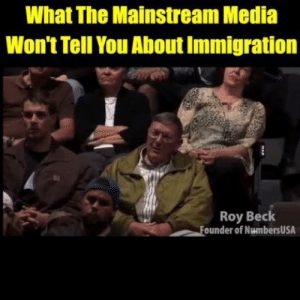 This is the TRUTH about the history of immigration in the United States. Everyone in America needs to see this.: What The Mainstream Media  Won't Tell You About Immigration  Roy Beck  ounder of NumbersUSA This is the TRUTH about the history of immigration in the United States. Everyone in America needs to see this.