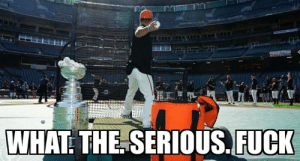 Club, Hockey, and National Hockey League (NHL): WHAT: THE SERIOUS.FUCK Hey San Francisco Giants, how do you explain this shit?  Maybe an NHL club could take your trophy and use it to dry the water bottles.....  The rook