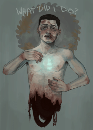 Tumblr, Blog, and Heart: WHAT TID I BOZ  &PICtorch pictorch-art:  he had cold hands and a frail heart