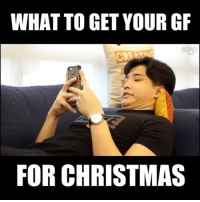 Christmas, Memes, and Link: WHAT TO GET YOUR GR  FOR CHRISTMAS Are we the only ones who find it DAMN HARD to buy Christmas gifts for our girlfriends or boyfriends…!? If you have no idea what to get them yet, try here: <link in bio>