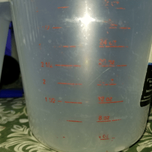 What use is a measuring cup when the measurements deteriorate with use?: What use is a measuring cup when the measurements deteriorate with use?