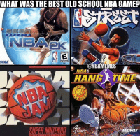 These games were 🔥 https://t.co/MRVmPLUQxg: WHAT WAS THE BEST OLD SCHOOL NBA GAME?  IBA  SEGA  ONBAMEMES  NBA  HANG TIME  SUPER NINTENDO  DWAY These games were 🔥 https://t.co/MRVmPLUQxg
