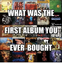 First album you bought? 🤔: WHAT WAS THE  FIRST ALBUM YOU  EVER BOUGHT  Igel  tige First album you bought? 🤔