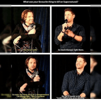 """Fanfiction, Future, and Memes: What was your favourite thing to killon Supernatural?  So much therapy right there.  My future wife  So now, any time we're ina disagreement  Noynoit needs to be  I'm always like """"This is because  """"Look. Ikilled you once already.""""  Ilkilled you, isn't it? The Sterek fanfiction I was talking about is called 'I know where babies come from, Derek'. I normally don't read sequels of fanfictions as they never live up to the original, but this is one series that is a must-read. • • • supernatural spn spnfamily sterek sterekfanfiction deanwinchester dean sam castiel cas sammywinchester castielnovak misha samwinchester spnseason12 mishacollins jared jensenackles jaredpadalecki angelofthelord adamwinchester destiel cockles supernaturaledits spnedits akf yana beinghotisthefamilybusiness"""