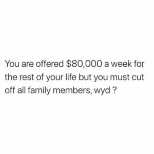 What would y'all do?! 💰😳🤔 https://t.co/VmgT5N61SL: What would y'all do?! 💰😳🤔 https://t.co/VmgT5N61SL