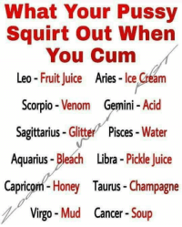 what makes a pussy squirt