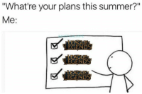 """Memes, True, and Summer: """"What're your plans this summer?""""  Me:  EGEND True and I got no regrets 🏆 Follow @mystical.ashe (me) for more! leagueoflegends"""