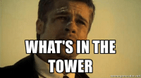 [S06E03] Book readers after a particular scene: WHATS IN THE  TOWER  memegenerator net [S06E03] Book readers after a particular scene