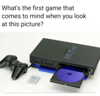 Game, Mind, and First: What's the first game that  comes to mind when you look  at this picture? Which game is it?! 👇🤔🎮 https://t.co/gJYPlUG8Nz