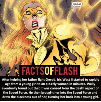 Memes, Zoom, and 🤖: WHATS THE  MATTER?  FACTSOFFLASH  After helping her father fight Grodd, Iris West II started to rapidly  age from a young girl to an elderly woman in minutes. Wally  eventually found out that it was caused from the death aspect of  the Speed Force. He then brought her into the Speed Force and  drew the blackness out of her, turning her back into a young girl. ⚡️⚡️ - Iris West II! - My other IG Accounts @facts_of_heroes @webslingerfacts @yourpoketrivia ⠀⠀⠀⠀⠀⠀⠀⠀⠀⠀⠀⠀⠀⠀⠀⠀⠀⠀⠀⠀⠀⠀⠀⠀⠀⠀⠀⠀⠀⠀⠀⠀⠀⠀ ⠀⠀------------------------ jaiwest lindapark batman gorillagrodd maxmercury impulse inertia professorzoom danielwest godspeed savitar flashcw theflash supergirl therogues flashcw justiceleague wallywest eobardthawne grantgustin ezramiller like4like batmanvsuperman bartallen zoom flash barryallen youngjustice jaygarrick