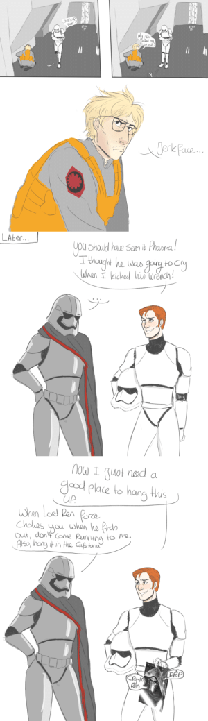 "syenes:  I'm 90% sure that one stormtrooper is general Hux: what's up  ""Matt 3  Huy you  wrench   Jerle Pace.   LALE.  you Shauld haue Sean it Phama!  Tihougiht he was gi tocy  lahen iced hiswrench!   now I Juot nead  Yood Place to hang thus  UP  whan Lod Ren Pera  when he Prdh  Choes  Jou  out, dontCome Runnuna to  Also, hang it in the Cafetaria  DERP  Ca-1o  Ren syenes:  I'm 90% sure that one stormtrooper is general Hux"