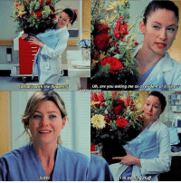 Memes, Flowers, and Stuff: [What's With the flowers?  Sister.  Uh, are you asking me as a resident or a sister  I'm stealing stuff. 4.12 over-edited scene but 🤗