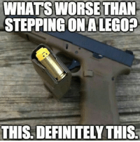 I bet it'll tickle. Lego RedWhiteBlue StillBetterThanYou BAM247 HollowPoints GYSOT USAUSAUSA Freedom Merica Rah Yessir Totalbadassness: WHATS WORSE THAN  STEPPING ONALEG02  THIS DEFINITELY THIS I bet it'll tickle. Lego RedWhiteBlue StillBetterThanYou BAM247 HollowPoints GYSOT USAUSAUSA Freedom Merica Rah Yessir Totalbadassness
