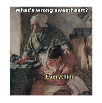 Good, Classical Art, and You: What's wrong sweetheart?  Everything Would be easier to tell you what's good