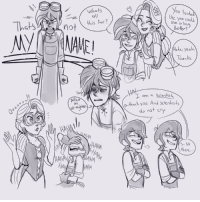 Love, Target, and Tumblr: whats  you coul  His for?  Use a h  Betcr  he, yeah  Thanks  HA  ana Scletis  a-thenk you. And sclentists  do not cry  0n  Ha  HA  S-So  here  HA  AllA chiscribbles4smiles:  Some doodles I did in SAI, because I was sleepy and felt like giving my boy some love. (I didn't intend for the composition to be so oddly symmetrical, though. It kinda looks like Raps is the reason he's sleep-deprived…then again, maybe she is.)Top-left is a reference to Carrie: the Musical, which I've been listening to all day.