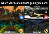 (y) Games Rock My World: What's your best childhood gaming memory?  www.Bandicam com  Car Shop  Change Performance Parts  Need for Speed  GTA  Goldeneye  Crash Bandicoot (y) Games Rock My World