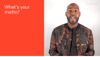 """<p><a href=""""https://stardom.tumblr.com/post/172603612087/karamo-brown-stopped-by-tumblr-hq-to-talk-about"""" class=""""tumblr_blog"""">stardom</a>:</p><blockquote><p>Karamo Brown stopped by Tumblr HQ to talk about emojis and other very important things. More <a href=""""https://stardom.tumblr.com/tagged/karamo-brown"""">here</a>.</p></blockquote> <p><i><b><a href=""""https://www.tumblr.com/search/queer+eye"""">Queer Eye</a></b></i>'s Karamo Brown is here with some joy for your dashboard. </p>: What's your  motto? <p><a href=""""https://stardom.tumblr.com/post/172603612087/karamo-brown-stopped-by-tumblr-hq-to-talk-about"""" class=""""tumblr_blog"""">stardom</a>:</p><blockquote><p>Karamo Brown stopped by Tumblr HQ to talk about emojis and other very important things. More <a href=""""https://stardom.tumblr.com/tagged/karamo-brown"""">here</a>.</p></blockquote> <p><i><b><a href=""""https://www.tumblr.com/search/queer+eye"""">Queer Eye</a></b></i>'s Karamo Brown is here with some joy for your dashboard. </p>"""