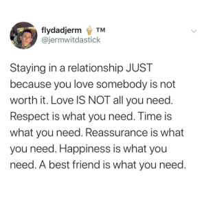What's your opinion on this take of relationships?: What's your opinion on this take of relationships?