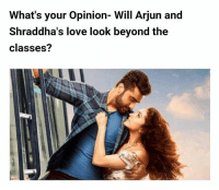 What's your Opinion- Will Arjun and Shraddha's love look beyond the classes? *READ FULL ARTICLE, LINK IN BIO*: What's your opinion- Will Arjun and  Shraddha's love look beyond the  classes? What's your Opinion- Will Arjun and Shraddha's love look beyond the classes? *READ FULL ARTICLE, LINK IN BIO*