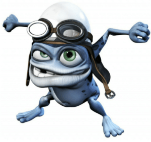 Crazy, Fucking, and Gif: whatthebec:  I'm half asleep and thought that was the fucking crazy frog in the bottom right of this gif