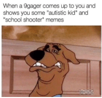 """<p>Edgy Memes = TR🅰️SH</p>: When a 9gager comes up to you and  shows you some """"autistic kid"""" and  """"school shooter"""" memes  CARTO <p>Edgy Memes = TR🅰️SH</p>"""